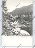 I 38083 PINZOLO - MADONNA DI CAMPIGLIO, Holzschneidemühle, Ca. 1905, Stengel-Verlag - Italia