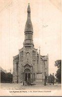 75 LES EGLISES DE PARIS N° 65 NOTRE-DAME D'AUTEUIL - Churches