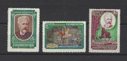 RUSSIE.  YT  N° 2028/2030  Neuf *  1958 - Unused Stamps