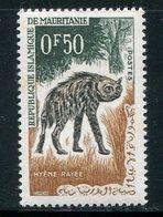 MAURITANIE- Y&T N°165- Neuf Avec Charnière * (hyènes) - Mauritanie (1960-...)
