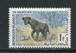MAURITANIE- Y&T N°166- Neuf Avec Charnière * (hyènes) - Mauretanien (1960-...)