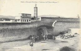 """Maroc)   FEZ - Palais Et Mosquée Chérifiens à L'intérieur Du """" Dar El Magsen """" - Fez (Fès)"""
