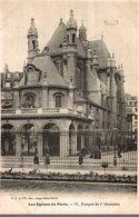 75 LES EGLISES DE PARIS N° 67 TEMPLE DE L'ORATOIRE - Churches
