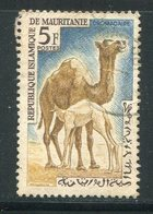 MAURITANIE- Y&T N°169- Oblitéré (chameaux) - Mauritanie (1960-...)
