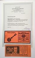Deutsches Reich 1925 Mi MH 16 ONr 2 Markenheftchen RARITÄT (carnet Booklet Insurance Versicherung Assurance Retraite - Markenheftchen