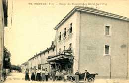 VONNAS =   Route De Neuville Et Hotel Lannier   1213 - Frankrijk