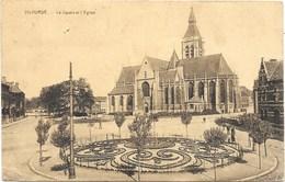 Vilvorde NA30: Le Square Et L'Eglise 1925 - Vilvoorde