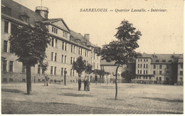 ALLEMAGNE - SARRELOUIS / SAARLOUIS - QUARTIER LASSALLE - INTERIEUR - Kreis Saarlouis