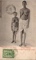 AFRIQUE --  CONGO Français - Naine Et Femme De Loango - Congo Français - Autres