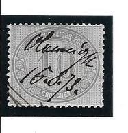 1872 10 Gr  Yvert 26 Obl Plume - Oblitérés