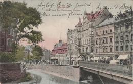 Allemagne . Chemnitz . Blick Nach Der Zwickauer Strasse . - Chemnitz