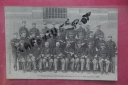 Cp 6 °congres Des Sous Officiers Des Douanes Du 26 Au 30 Mai 1913 Paris - Zoll