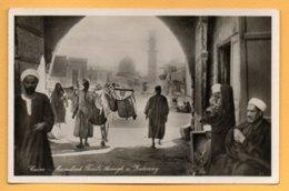 Cairo - Mamelouk Tombs Through A Gateway - Cairo