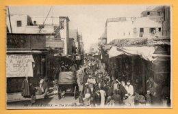 Alexandria - The Native Bazaars. - LL. - Alexandria