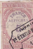 T.F Affiches N°1 - Revenue Stamps