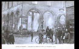 ANCY LE FRANC INCENDIE - Ancy Le Franc