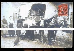 ANTONY  RUE DE L EGLISE 1908 FERMIERS - Francia