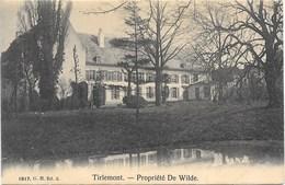 Tirlemont NA23: Propriété De Wilde - Tienen