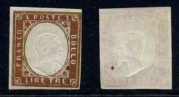 SARDAIGNE / 1855  # 15 * / COTE 225.00 EUROS (ref T1732) - Sardegna