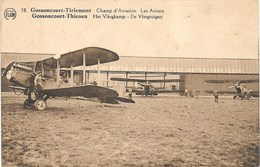 Tirlemont NA24: Gossoncourt. Champ D'Aviation. Les Avions 1926 - Tienen
