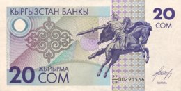 Kyrgyzstan 20 Som, P-6 (1993) - UNC - Kirguistán