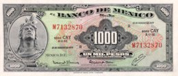 Mexico 1.000 Pesos, P-52t (18.2.1977) - UNC - Serie CAY - Mexiko