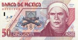 Mexico 50 Pesos, P-107c (17.3.1998) - UNC - Serie AT - Mexiko