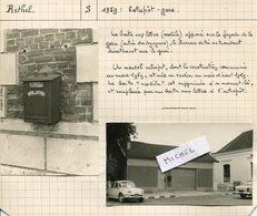 Ardennes. 1959. RETHEL Entrpôt-gare 2 Photos Originales - Photos