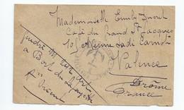 ARMEE D' ORIENT    LETTRE A Voir - Franchise Stamps