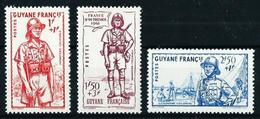 Guayana (Francesa) Nº 169/71 Nuevo* - Unused Stamps