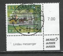 Zwitserland, Mi 2364 Jaar 2014, Hogere Waarde, Hoekblok, Prachtig Gestempeld - Switzerland
