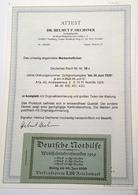 Deutsches Reich 1929 Nothilfe Mi MH 28.3 Markenheftchen RARITÄT(carnet Booklet BPP écusson Coat Of Arms Charity Key - Markenheftchen