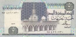 EGYPT 5 EGP POUNDS 1986 1987 P-56c SIG/ SALAH HAMED #18 AU/UNC */* - Egypt