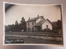 Aveyron, Lugans, Gare, 1912. - Frankreich