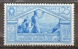 ITALIE (Royaume) - 1930 - N° 269 - 1 L. 25 Bleu - (Bimillénaire De La Naissance De Virgile) - Nuovi