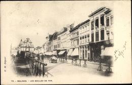 Cp Mechelen Malines Flandern Antwerpen, Les Bailles De Fer - Altri