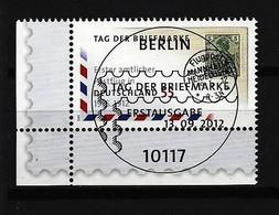 BUND Mi-Nr. 2954 Eckrandstück Links Unten Gestempelt - BRD