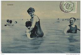 OSTENDE 1910, BAINS DE MER - Oostende