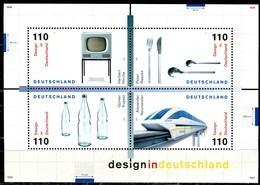 BRD - Mi Block 50 = 2068 / 2071 - ** Postfrisch - Design In Deutschland 99 - Blokken