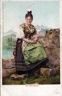 CPA - Folklore, Coiffes & Série Costumes Suisses N°21 - Edition Burgy, Lith, Saint-Imier - Uri (Reussthal) - UR Uri