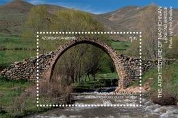 Azerbaijan Stamps 2019 Leketag Bridge. Julfa Region Architecture NAKHCHIVAN Bridge - Bridges