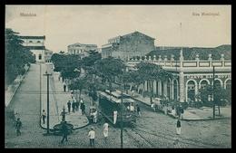 MANAUS - ELECTRICOS - Rua Municipal. ( Ed. G. Huebner & Amaral / Nº 6517)  Carte Postale - Manaus