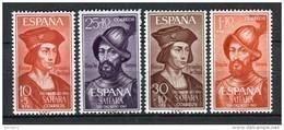 Sahara 1961. Edifil 197-200 ** MNH. - Sahara Spagnolo