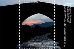 Azerbaijan Stamps 2019 Gazanchi Bridge. Julfa Region Architecture NAKHCHIVAN Bridge - Azerbaïjan