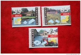 Zomerzegels Summer Sommer NVPH 1468-1470 (Mi 1403-1405); 1991 POSTFRIS / MNH ** NEDERLAND / NIEDERLANDE - 1980-... (Beatrix)