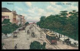 MANAUS - ELECTRICOS -  Avenida Ed. Ribeiro  ( Ed. G. Huebner & Amaral / Nº 6516)  Carte Postale - Manaus