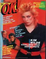 OK ! N° 327 04-1982 - KIM WILDE - ROBERT PALMER - STARSKY & HUTCH - SECRET SERVICE - - Musique