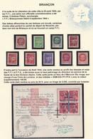 LIBERATION: BRIANCON  SERIE PM1 A 9** + CARTE NOËL 1944  COTE MAYER 290+150=440E   SIGNE P.MAYER - Libération