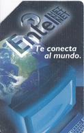 TARJETA DE BOLIVIA DE ENTEL CONECTA AL MUNDO - Bolivia