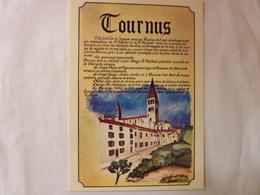 TOURNUS - Tiré Du Tableau Turistique Réalisé Par Les R.A. BOUR - Frankreich